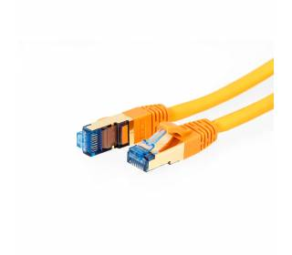ProfiPatch Patchkabel Cat.6A S/FTP RJ45 mit Cat.7 Rohkabel PiMF LSZH 10GB orange 3m