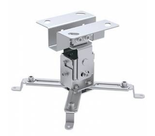 Deckenhalterung für Beamer ausziehbar 130mm Silber Techly ICA-PM-2S