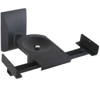 Lautsprecherhalterung Wand max. 25kg Schwarz Techly ICA-SP-SS201