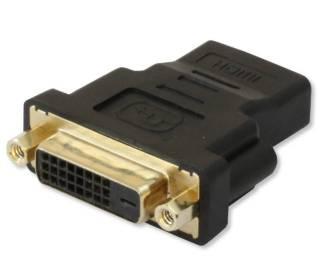 HDMI Buchse auf DVI-D 24+1 dual link Buchse Techly IADAP-HDMI-644