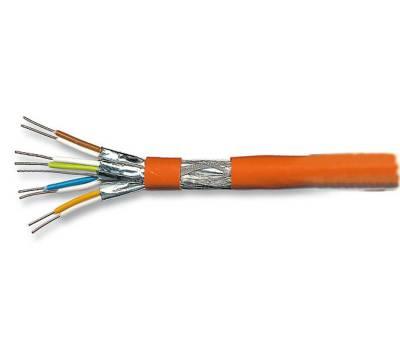 Verlegekabel Netzwerkkabel Cat.7 S/FTP(PIMF) 1000MHz AWG23 10GB halogenfrei Dca Simplex Meterware ProfiPatch