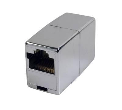 Patchkabel LAN Verbinder Cat.5e 1:1 Verlängerung RJ45 Kupplung Adapter geschirmt
