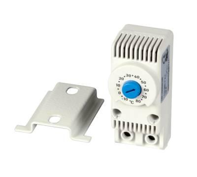 Thermostat für Einbaulüfter für Wandgehäuse Serverschrank inkl. Montagematerial