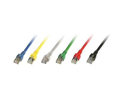 Patchkabel Cat.5e SF/UTP PVC RJ45 DSL Ethernet TV Netzwerk LAN 2,5GB