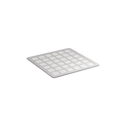 Modul mit Filtermatte -Öffnung A- lichtgrau RAL7035  für Schrankserie s01 PRO
