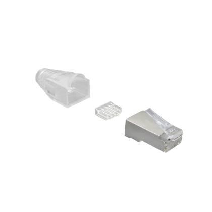Netzwerk Stecker Set RJ45 Cat6 10/20/50/100 Stck für Patchkabel geschirmt ProfiPatch