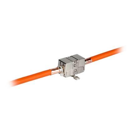 INFRALAN® Kabelverbinder Cat.6A Class EA 500Mhz 10Gbit STP vollgeschirmt werkzeuglos