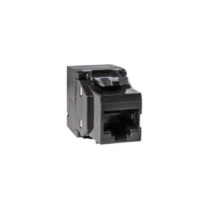 Keystone Jack Modul Cat.6 250Mhz 5Gbit RJ45 werkzeuglos schwarz ProfiPatch