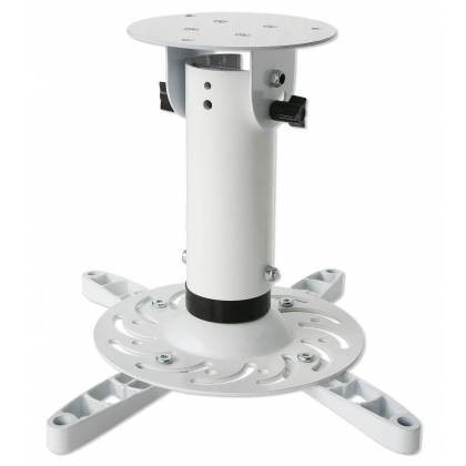 Universal-Deckenhalterung für Beamer 30cm Deckenabstand Weiß Techly ICA-PM-200WH