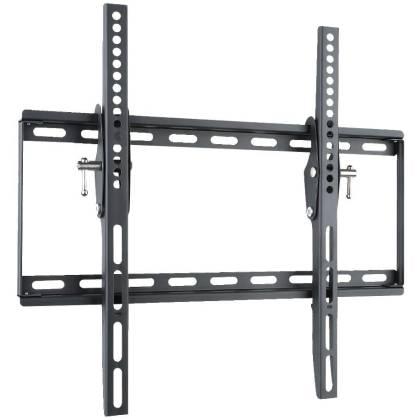 """Wandhalterung für LCD TV LED 23"""" - 55"""" neigbar Schwarz max. 45kg Techly"""
