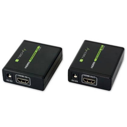 HDMI Extender über Netzwerkkabel Cat. 5e/6 60m Techly IDATA-EXT-E70