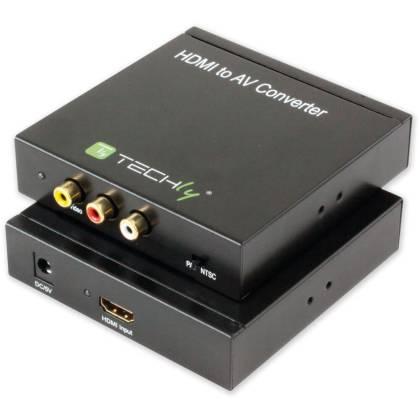 HDMI zu AV in 3xRCA Konverter Techly IDATA-SPDIF-4