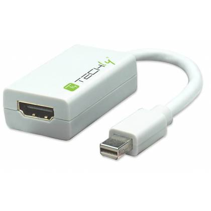 Adapter - Mini-DisplayPort auf HDMI Techly IADAP-MDP-HDMIF