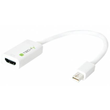 Adapter Mini-DisplayPort 1.2 auf HDMI Techly IADAP-MDP-HDMIF12