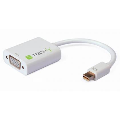 Adapter Mini-DisplayPort 1.2 auf VGA Techly IADAP-MDP-VGAF2