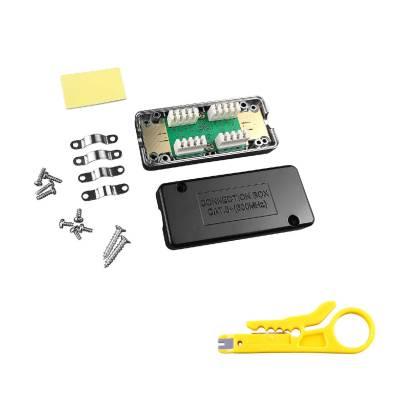 1x Netzwerk Verlängerung Verbindungsmodul LSA Verbinder Cat.6A Cat.7 geschirmt