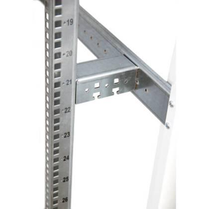 """Tiefenstrebenset 19""""-Profile für Schranktiefe 600/800/1000/1200mm Standverteiler s01 CLASSIC"""