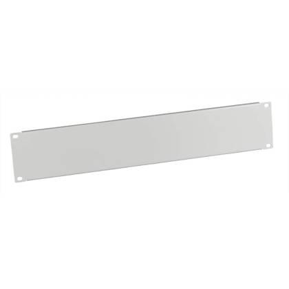 """19"""" Blindplatte 2HE für Netzwerkschrank lichtgrau RAL7035 ProfiPatch"""