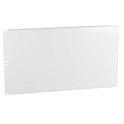 """19"""" Blindplatte 6HE für Netzwerkschrank lichtgrau RAL7035 ProfiPatch"""
