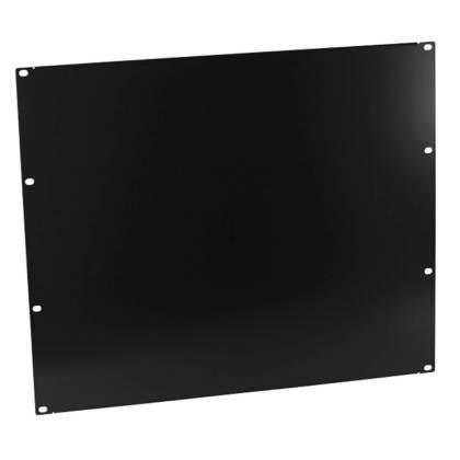 """19"""" Blindplatte 9HE für Netzwerkschrank tiefschwarz RAL9005 ProfiPatch"""