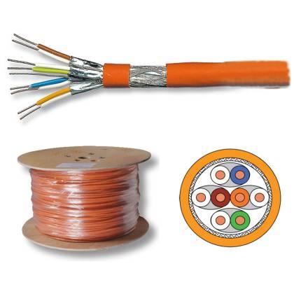 Verlegekabel Netzwerkkabel Cat7 S/FTP(PIMF) 1000Mhz 10GB Simplex 200m ProfiPatch