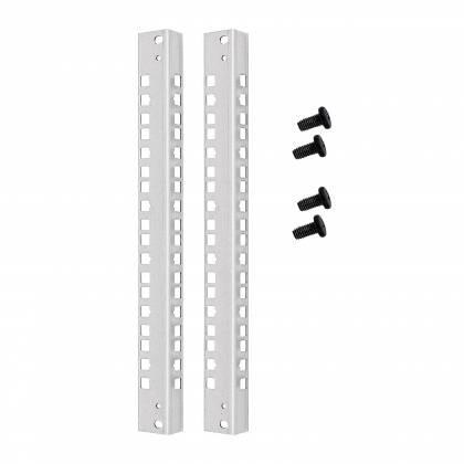 """19"""" Profilschienen Set für weitere Ebene in Flat Pack Wandgehäusen 21HE"""