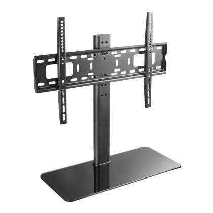 """Schreibtischhalterung für 1 LCD TV LED 32""""-55"""", mit Glas Standfuß Techly ICA-LCD-S304L"""