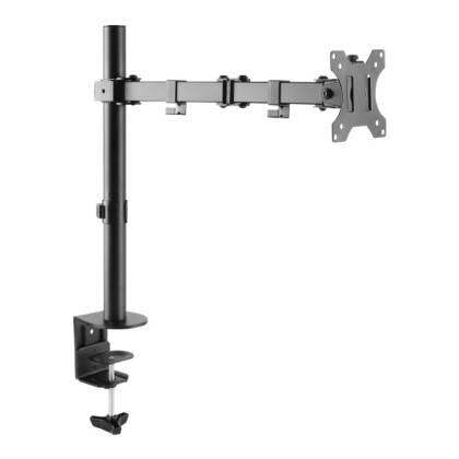 """Schreibtischhalterung für 1 LCD TV LED 13""""-32"""", mit Klemme Techly ICA-LCD-503BK"""
