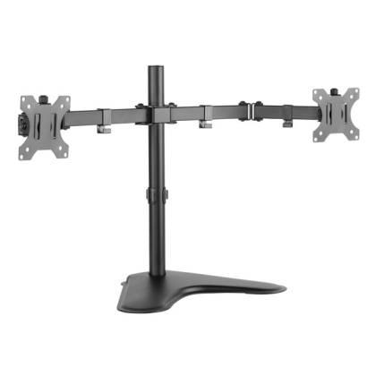 """Schreibtischhalterung für 2 LCD TV LED 13""""-32"""", mit Standfuß Techly ICA-LCD-2524"""