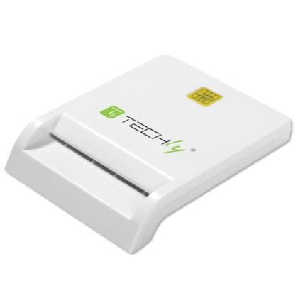 Chipkartenleser über USB 2.0 Techly I-CARD-CAM-USB2TY