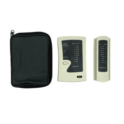 Netzwerktester Kabeltester Leitungstester ISDN LAN DSL RJ11/12/45 Cat.3/5/6/7