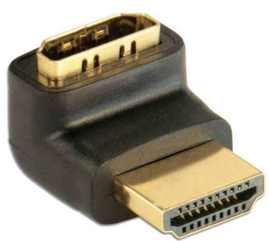 HDMI Adapter Stecker/Buchse 90° Techly IADAP-HDMI-L