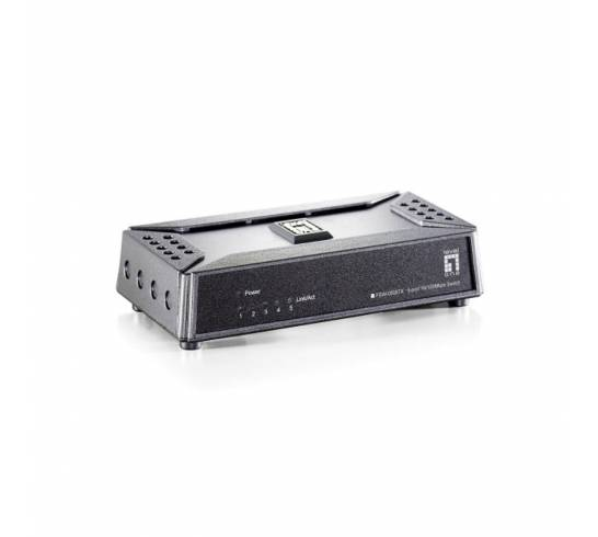 LevelOne 5-Port Fast Ethernet Switch ultracompact FSW-0508TX
